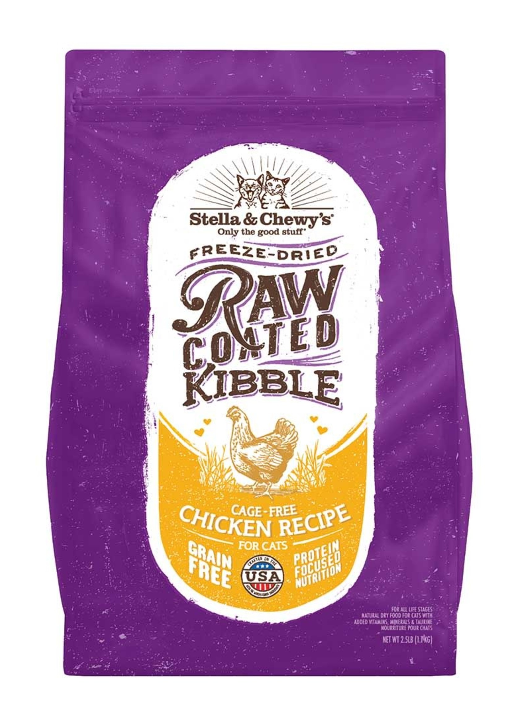 Stella & Chewys Stella & Chewy's Cat Dry Raw Coated Kibble Chicken