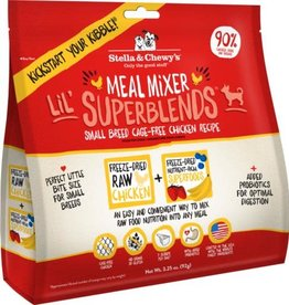 Stella & Chewys Stella & Chewy's Dog Topper Small Breed Superblends Meal Mixer Chicken 3.25 oz