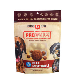 Boss Dog Boss Dog Treats Pro Balls Beef 3oz