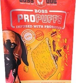 Boss Dog Boss Dog  Treats ProPuffs Cheddar/Bacon 6oz