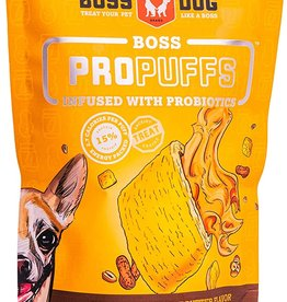 Boss Dog Boss Dog Treats ProPuffs Peanut Butter 6oz