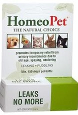 Homeopet LLC Homeo Pet Leaks No More K9/Fel 450drops