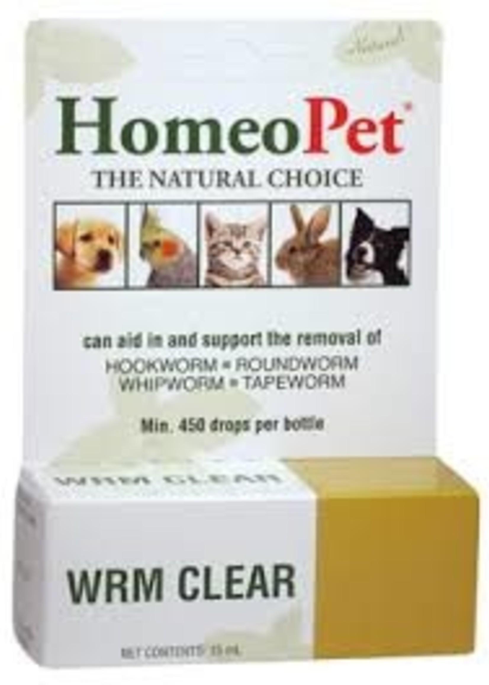 Homeopet LLC Homeo Pet Worm Clear Fel