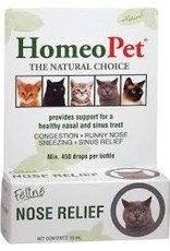 Homeopet LLC Homeo Pet Feline Nose Relief 15m