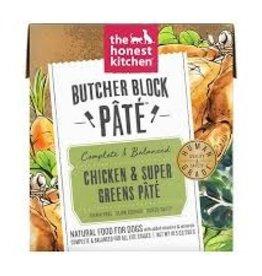 Honest Kitchen Honest Kitchen Dog Butcher Block Pate Chkn Super Greens 10.5oz