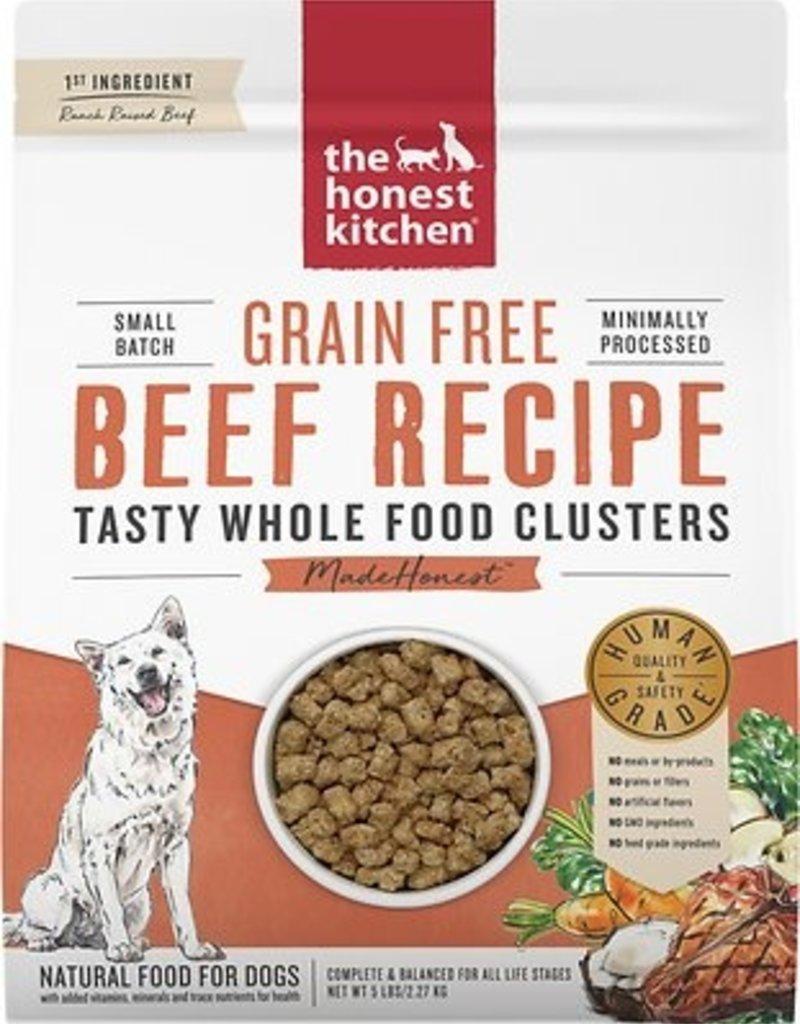 Honest Kitchen The Honest Kitchen Dog Clusters Grain Free Beef Trial 1lb