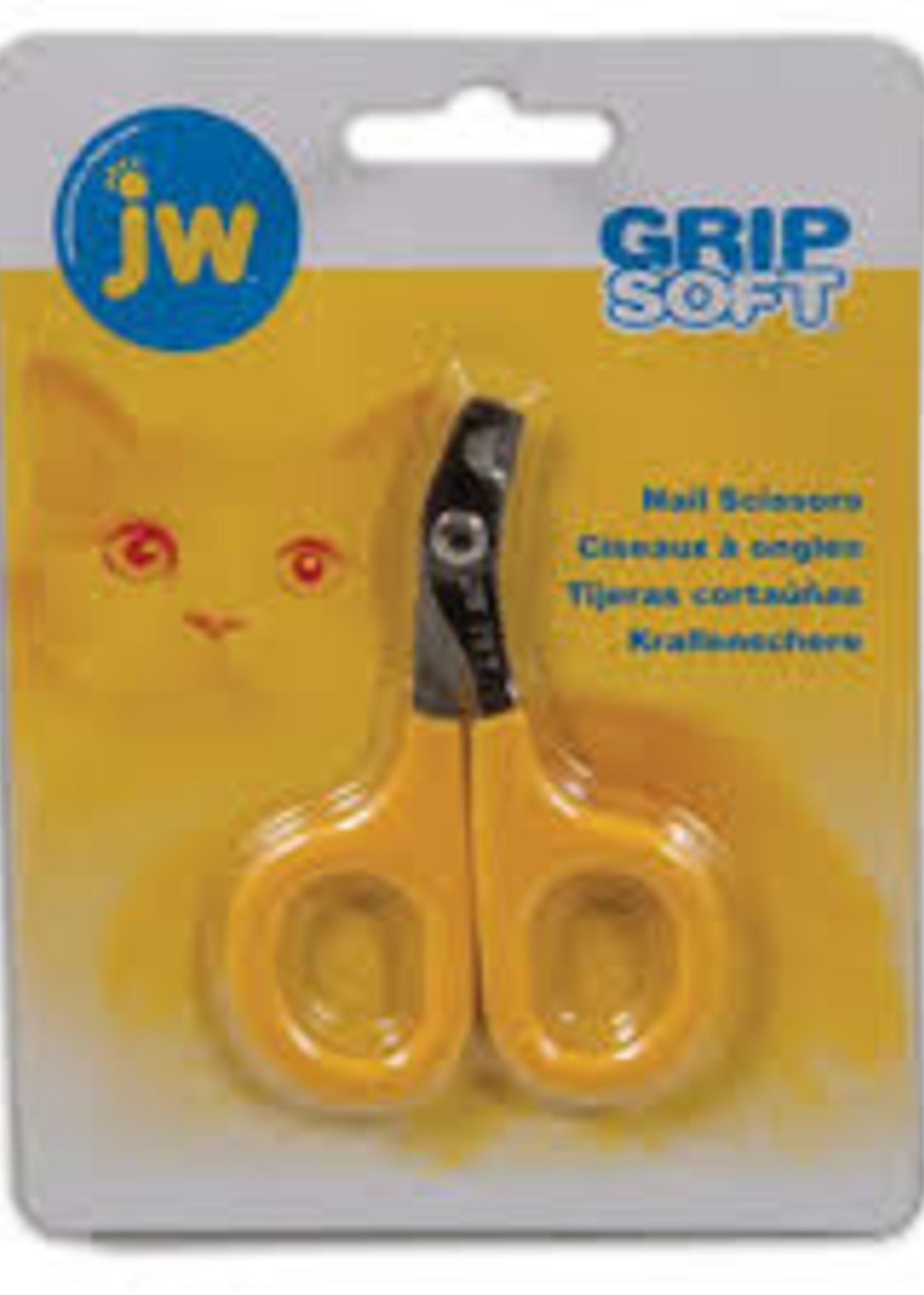 JW Pet/Doskocil Manufacturing JW Pet Company GripSoft Cat Nail Clipper