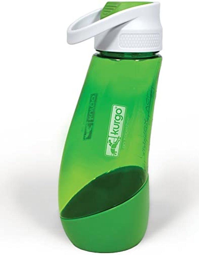 Kurgo Kurgo Gourd H2O Bottle Green