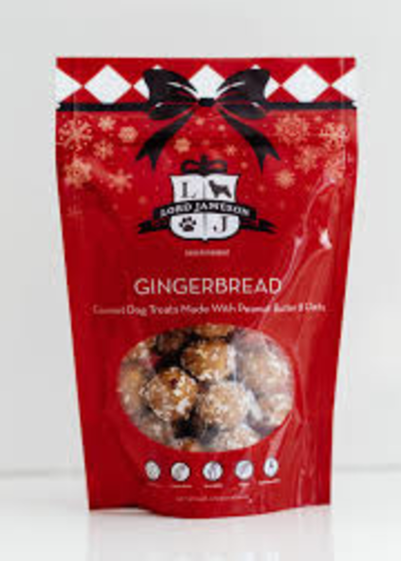 Lord Jameson Lord Jameson Dog Treats Gingerbread 6oz