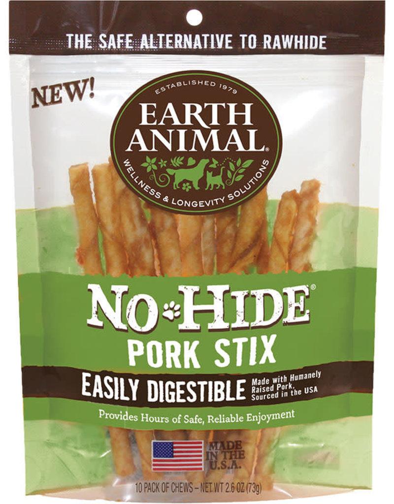 Earth Animal Earth Animal Dog Treat No-Hide Chew Pork 10pk