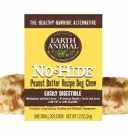 "Earth Animal Earth Animal Dog Treat No-Hide Chew Peanut Butter 4"" 2pk"