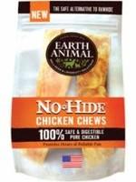"Earth Animal Earth Animal Dog Treat No-Hide Chew Chicken 7"" 2pk"