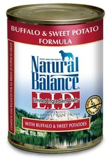 Natural Balance Pet Foods, Inc. Natural Balance LID Buffalo & Sweet Potato Formula K9 13oz