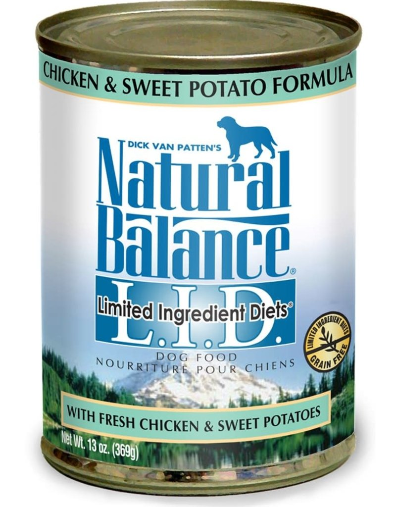Natural Balance Pet Foods, Inc. Natural Balance LID Chicken & Sweet Potato Formula K9 13oz