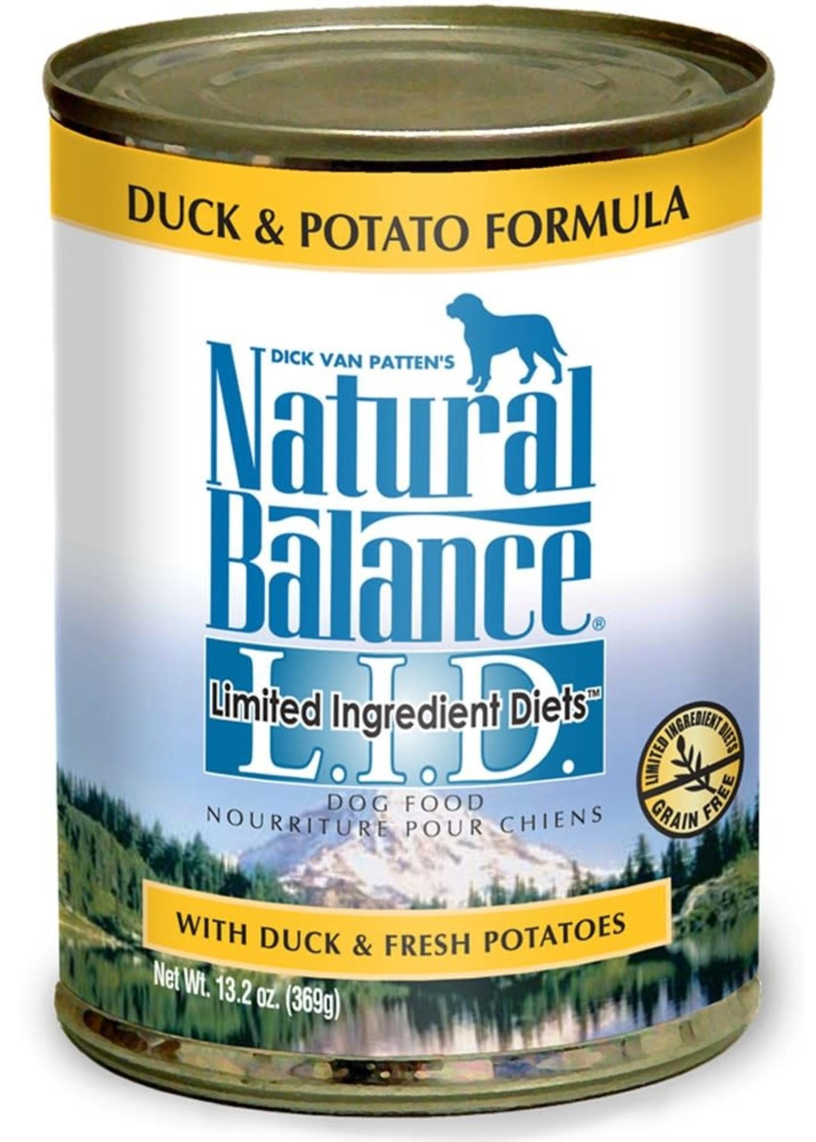 Natural Balance Pet Foods, Inc. Natural Balance LID Duck & Potato Formula K9 13oz