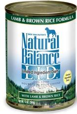 Natural Balance Pet Foods, Inc. Natural Balance LID Lamb & Brown Rice Formula K9 13oz