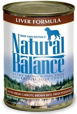 Natural Balance Pet Foods, Inc. Natural Balance Liver Formula K9 13oz