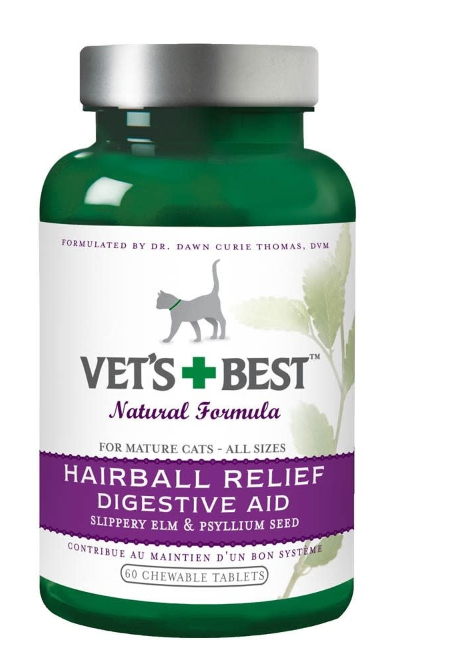 Vet's Best Vet's Best Natural Formula Hairball Relief Digestive Aid Fel 60ct