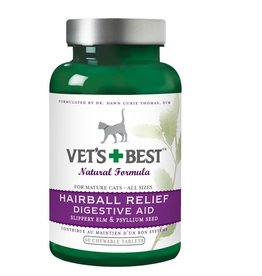 Vet's Best Vet's Best Natural Fromula Hairball Relief Digestive Aid Fel 60ct