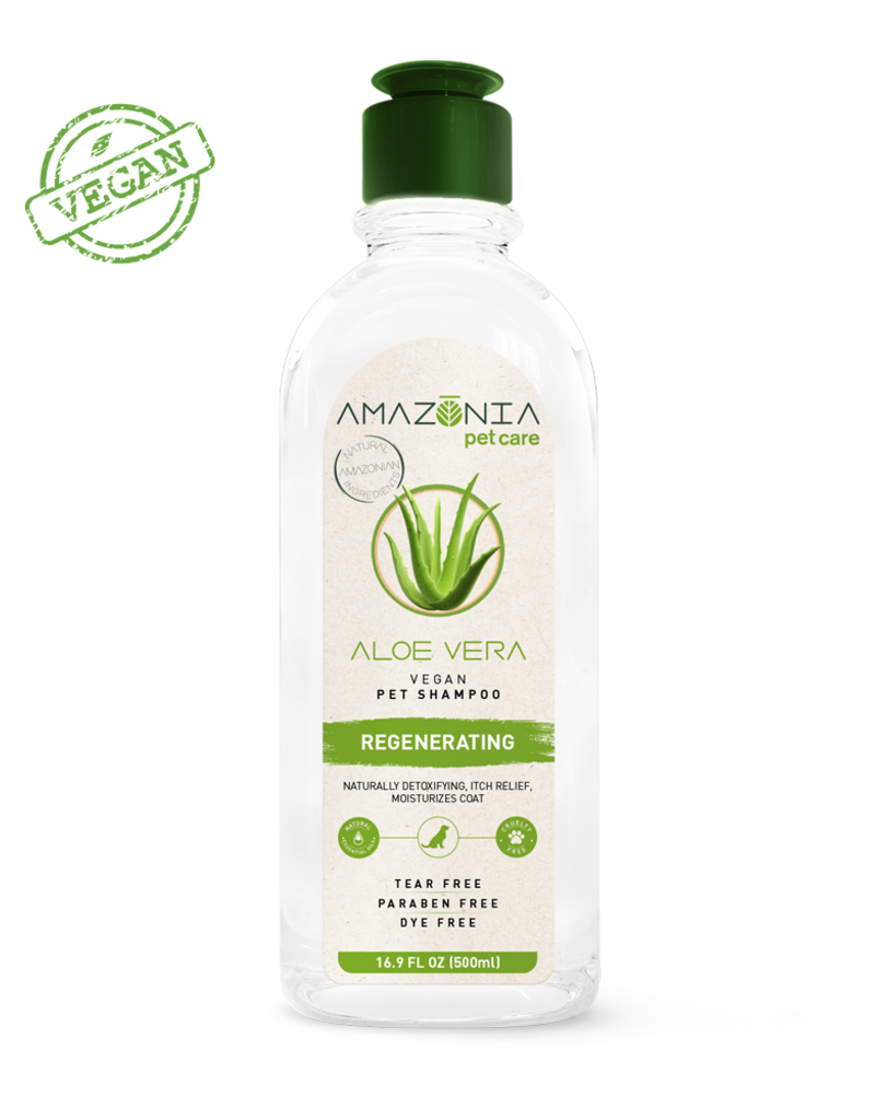 Amazonia Pet Care Amazonia Aloe Vera Dog & Cat Shampoo 16.9oz