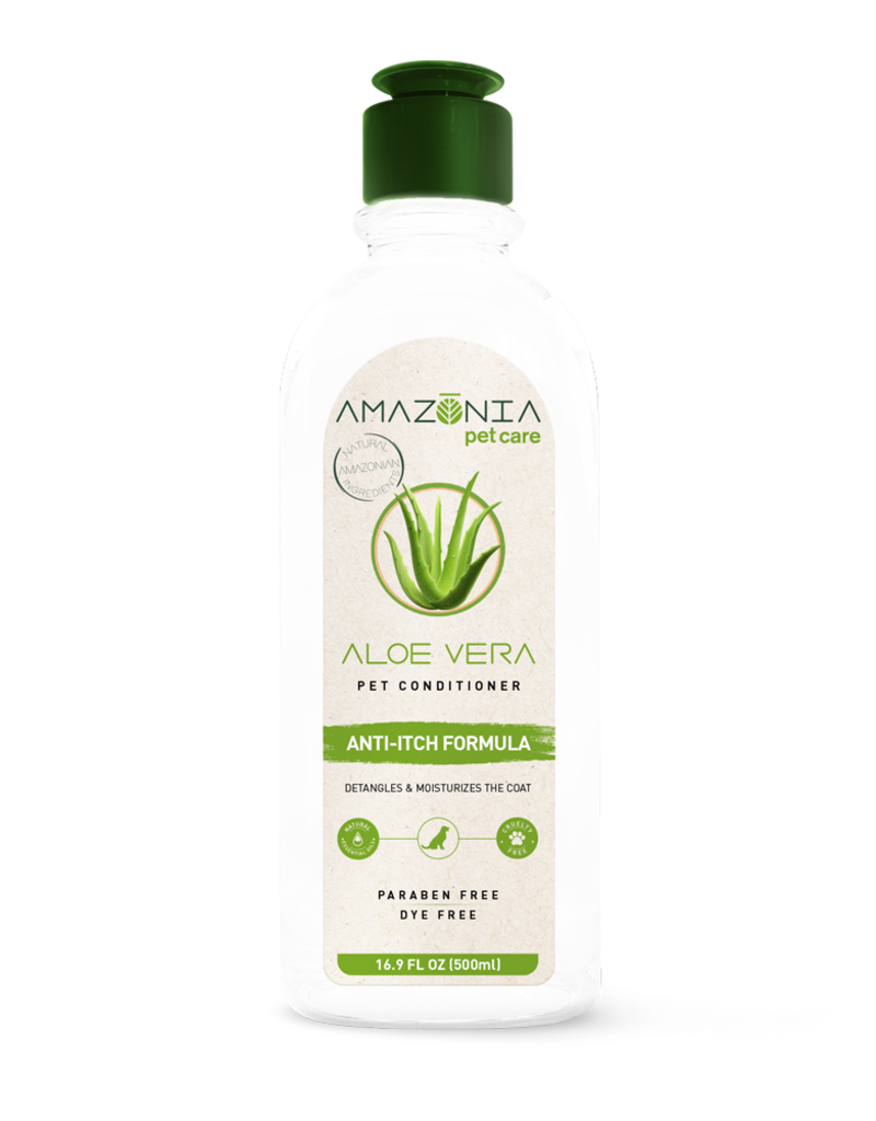 Amazonia Pet Care Amazonia Aloe Vera Regenerating Dog/Cat Conditioner 16.9oz