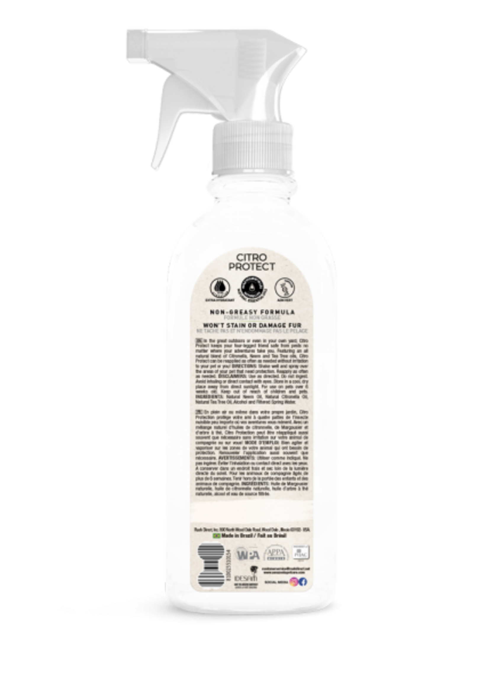 Amazonia Pet Care Amazonia Citro Protect Flea & Tick Spray 16.9oz