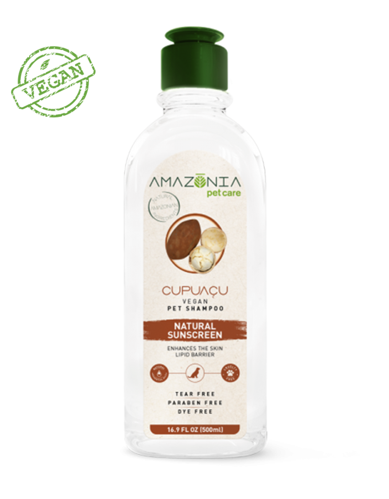 Amazonia Pet Care Amazonia Cupuacu Natuarl Sunscreen Pet Shampoo 16.9oz