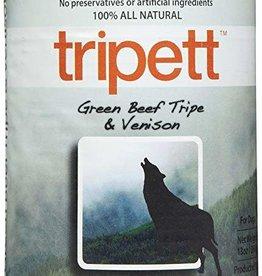 Tripett Tripett GF Green Beef & Venison Tripe K9 13oz