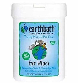 EARTHBATH/EARTHWHILE ENDEAVORS Earthbath Eye Wipes 25ct