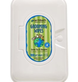 EARTHBATH/EARTHWHILE ENDEAVORS Earthbath Grooming Wipes Green Tea Leaf 100ct