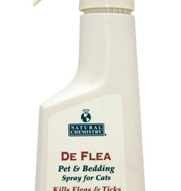 NATURAL CHEMISTRY Natural Chemistry DeFlea Cat Pet & Bedding Spray 8oz