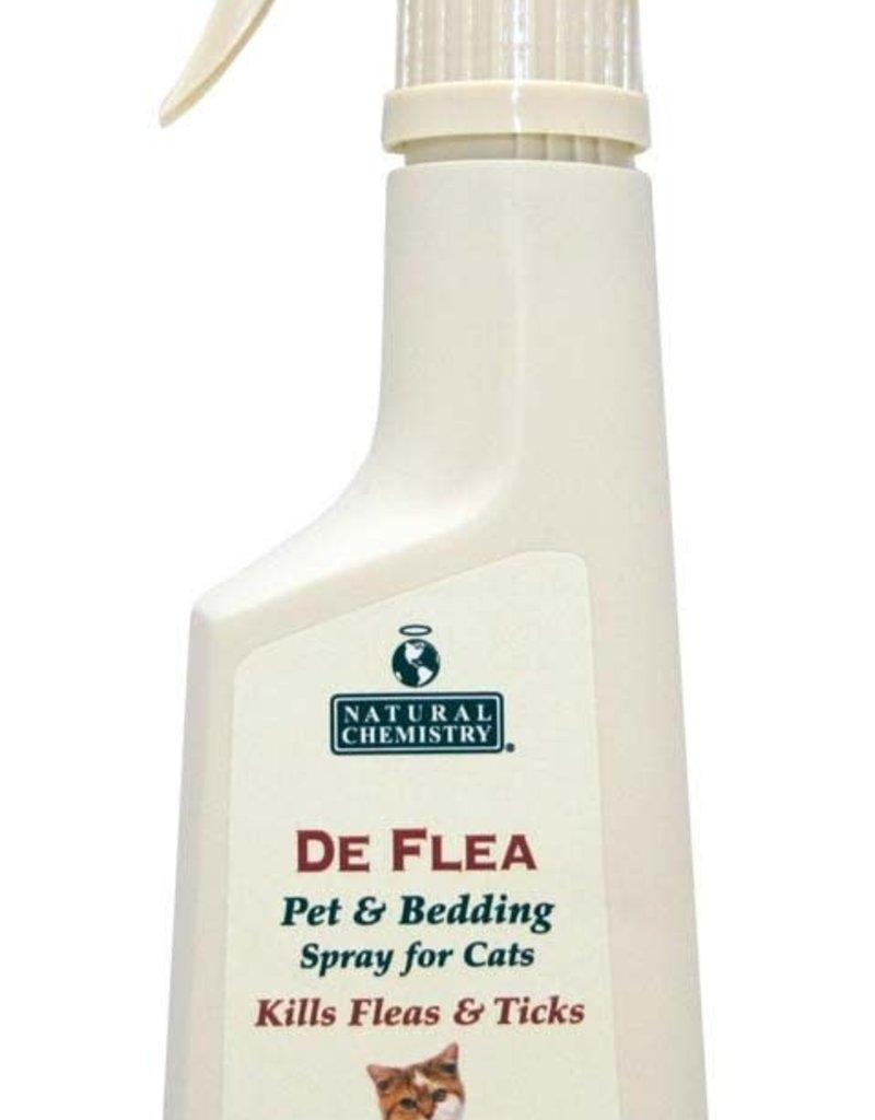 NATURAL CHEMISTRY Natural Chemistry DeFlea Cat Pet & Bedding Spray 8oz