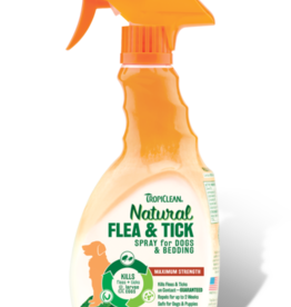 Tropiclean Manufacturing TropiClean Dog Flea and Tick Pet and Bedding Spray 16 oz