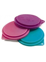 """Ethical Product Inc./Fashion Pet/Lookin Good Spot Ethical Pet Food Can Covers 3.5"""" 3 Pack Assorted Colors"""