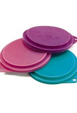 "Ethical Product Inc./Fashion Pet/Lookin Good Spot Ethical Pet Food Can Covers 3.5"" 3 Pack Assorted Colors"