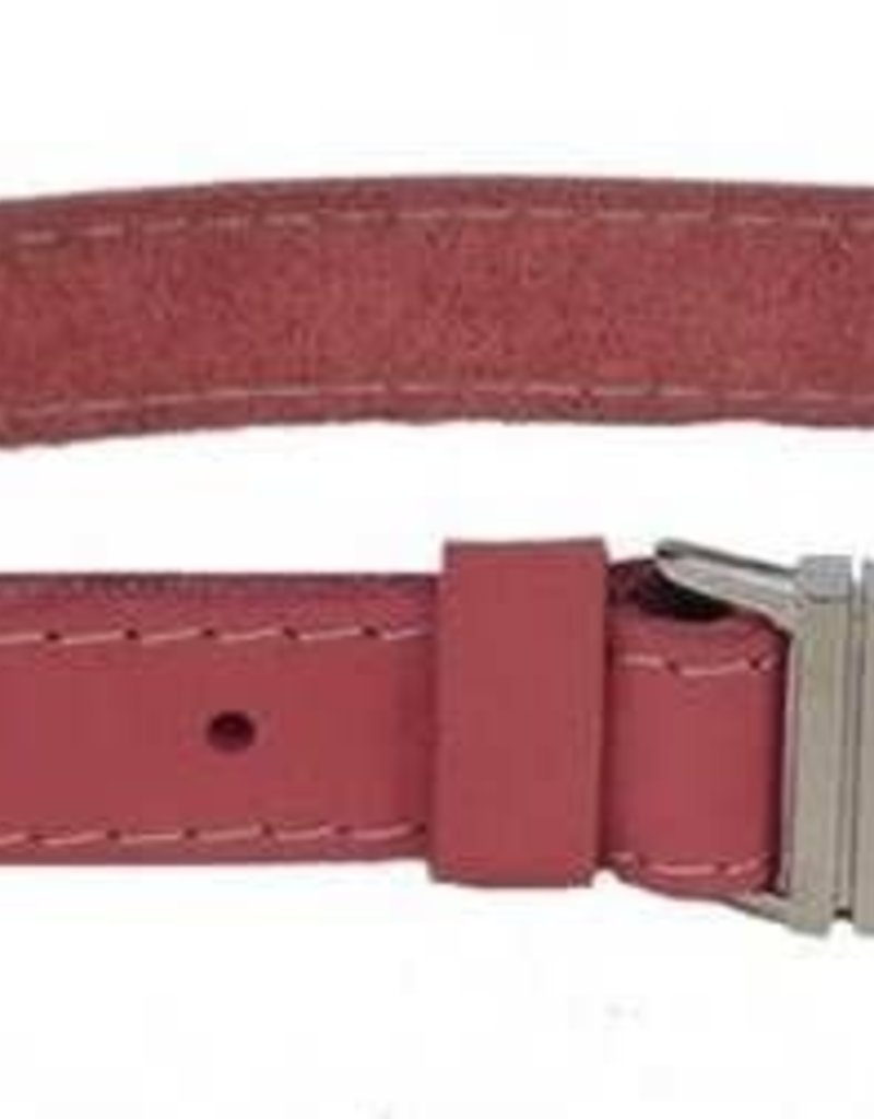 """Euro-Dog Euro-Dog Quick Release 1in Collar 18-22"""" Coral Large"""