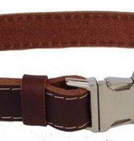 Euro-Dog Euro-Dog Quick Release Collar Burgandy Small