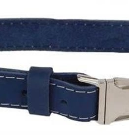 Euro-Dog Euro-Dog Quick Release Collar Navy Large