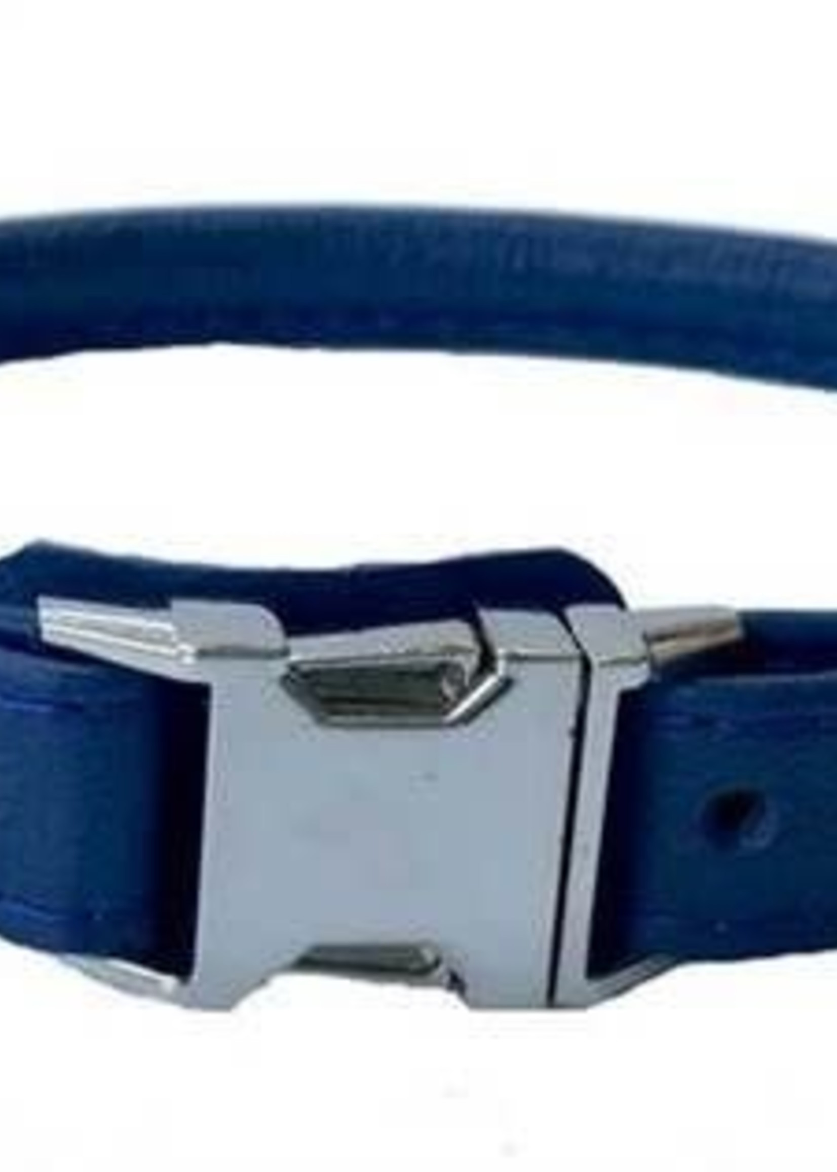 Euro-Dog Euro-Dog Quick Release Rolled Collar Navy XL