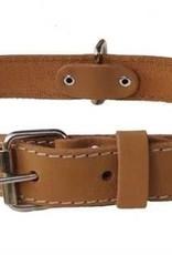 "Euro-Dog Euro-Dog Traditional 1 1/4in Collar 17-23"" Tan XL"