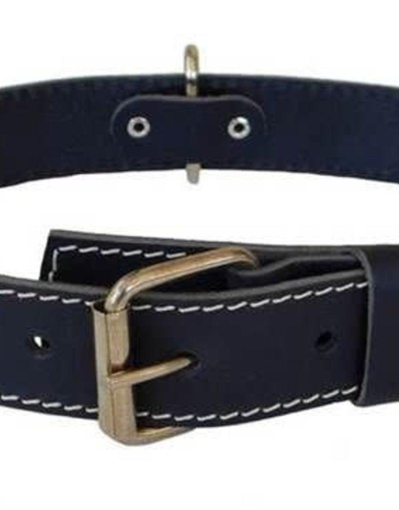 Euro-Dog Euro-Dog Traditional Collar Black Medium
