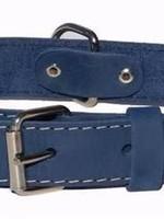 Euro-Dog Euro-Dog Traditional Collar Navy Medium