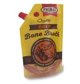 Primal Pet Foods Primal Beef Bone Broth Dog & Cat Supplement 20OZ