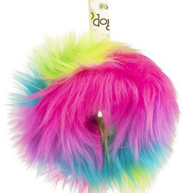 GO DOG GoDog Furballz Ring Rainbow Small Plush