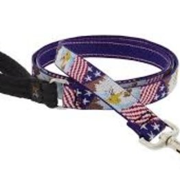 """LupinePet Lupine 1"""" American Eagle 4ft Leash"""