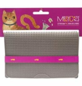 Messy Mutts Messy Mutts Cat Litter Mat Grey