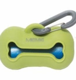 Messy Mutts Messy Mutts Dog Wastebag Holder Green