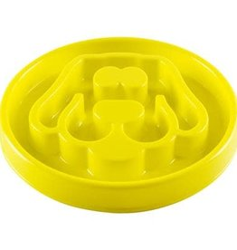 Be One Be One Small Yellow Small Dog Slow Feeder Bowl