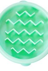 Outward Hound Outward Hound Fun Feeder Slo-Bowl Wave Mint X-Small