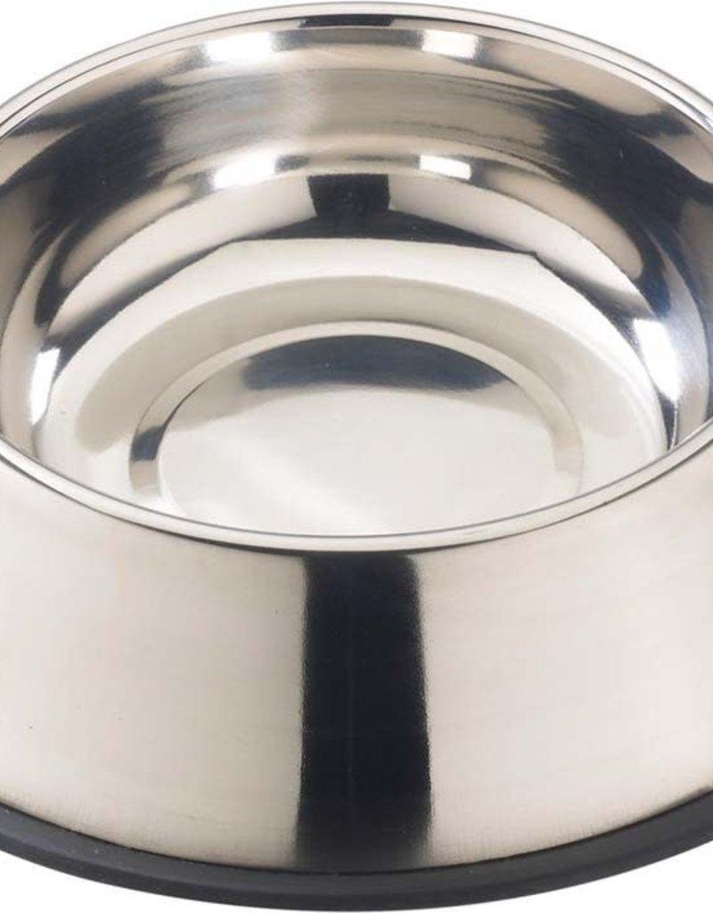 Spot Spot Stainless Steel Mirror Finish No-Tip Dog Bowl 64oz